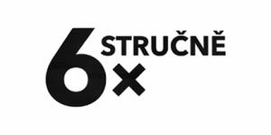 6x stručně - nové logo ČT 4