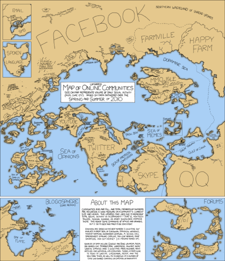 Mapa sociálního světa