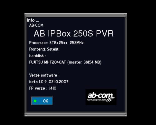 AB IP Box 250S info