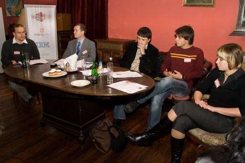 Panelová diskuse - 4. klubový večer WebTop100 2008