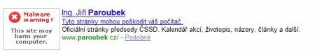 Paroubek screenshot