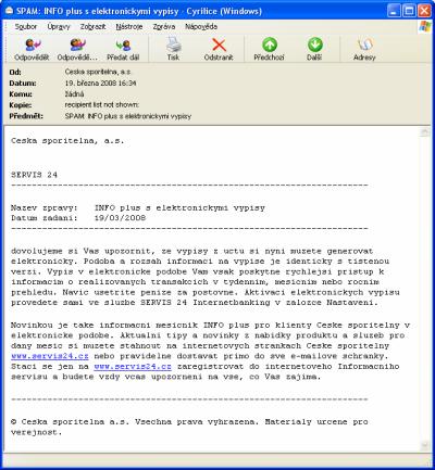Servis 24 - phishing