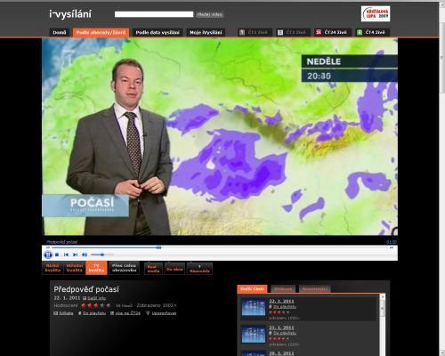 Česká televize - iVysílání