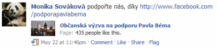 podporte-pavla-bema-spam-na-facebooku
