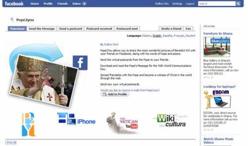 Vatikán, papež a Facebook