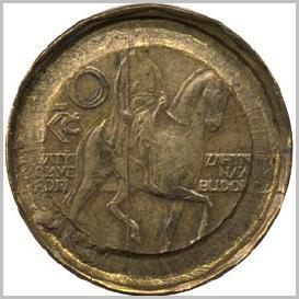 pozměněná mince