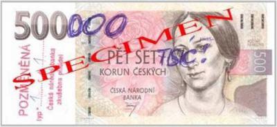pozměněná bankovka, padělek, kriminalita