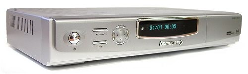 Homecast HS5001 CI přední panel