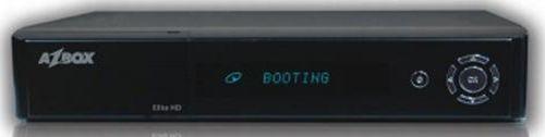 AzBox Elite HD přední panel