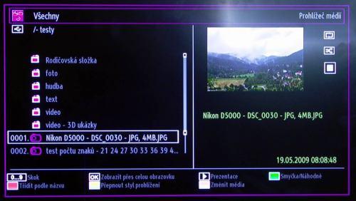 Hyundai LLF 22914 DVD prohlížeč médií foto