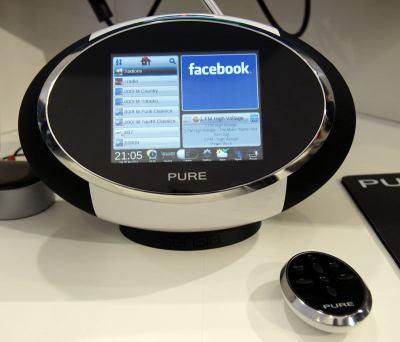 Digitální rádio Pure Sensia Facebook