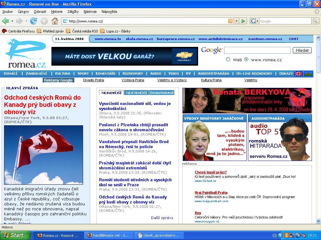 Webové stránky lesbické kultury