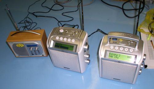 Rádio - digitální příjem (test Praha 2005)