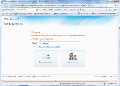 Windows Live Family Safety