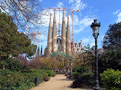 sagrada da familia barcelona spanelsko