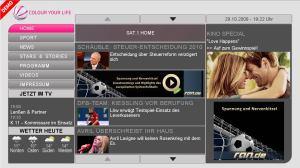 Sat1 HbbTV
