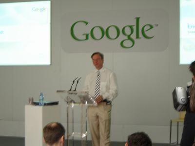 Google Press day 2007 - Eric Schmidt