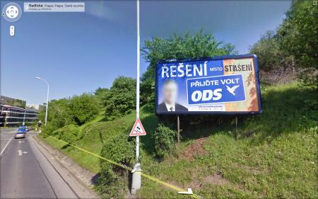 Google Street View: Anonymizovaný politik