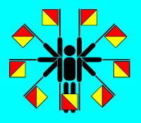 Semaphore flags