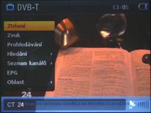 Sencor SPV 8351T - vysílání