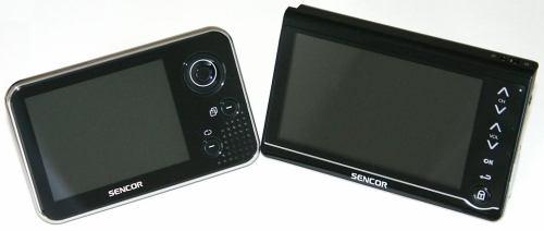 Sencor SPV 8351T a Sencor SPV 8431T - zepředu