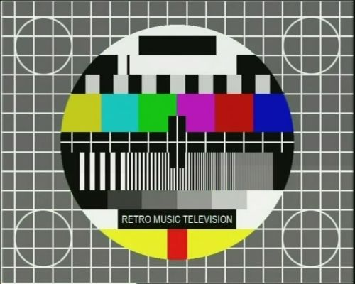 Retro Music Television monoskop