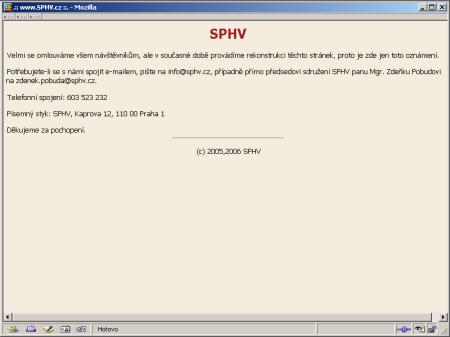 SVHP.cz