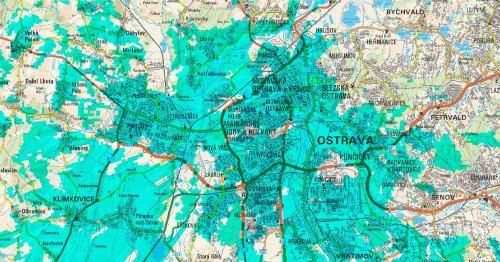 Spray TV - pokrytí Ostrava