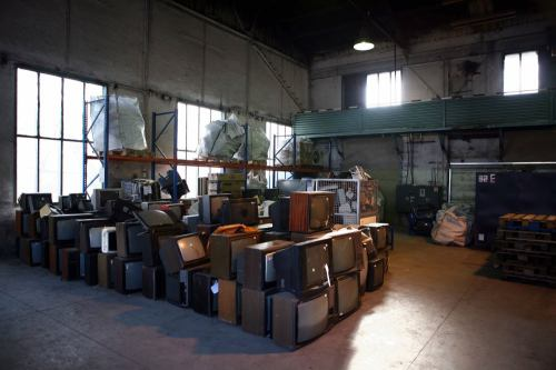 Recyklace starých televizí - 5