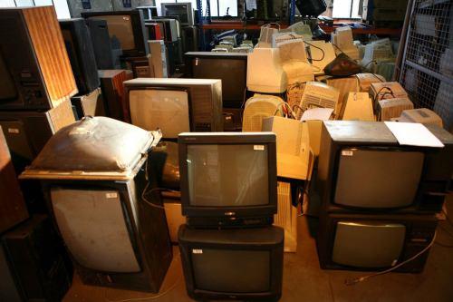 Recyklace starých televizí - 6