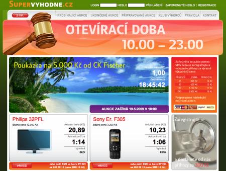 Supervýhodně.cz - homepage