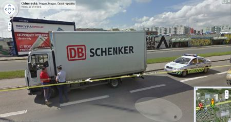 Google Street View Pokutička