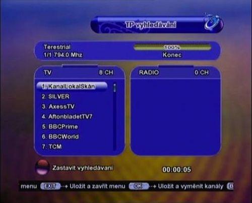 Švédský multiplex - 61. kanál