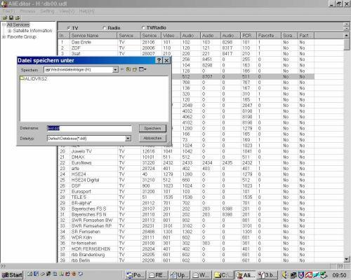Comag SL100 HD setting