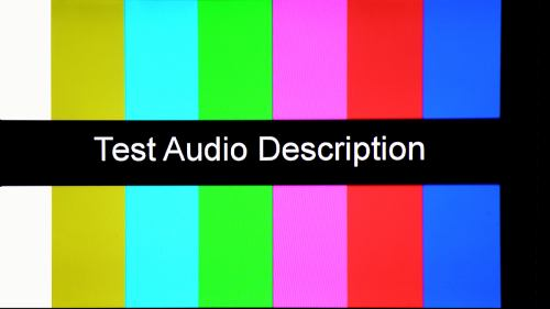 Test Audio Description - multiplex 3