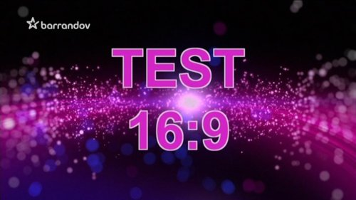 Test TV Barrandov - 16:9