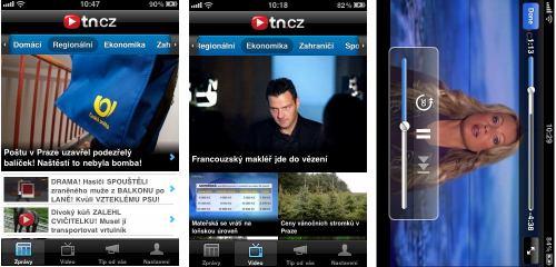 TN.cz - aplikace pro iPhone a iPad
