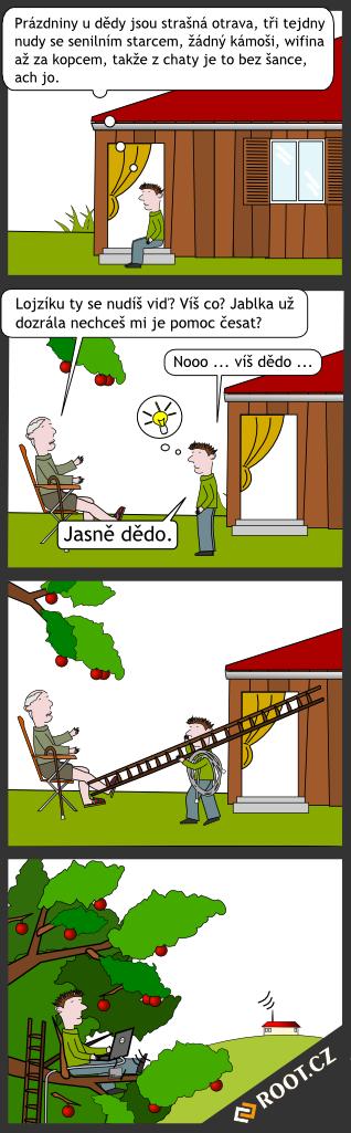 Prázdniny u dědy