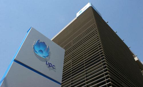 UPC budova výšková - logo