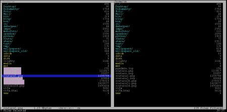 vifm - označování souborů a adresářů pomocí t
