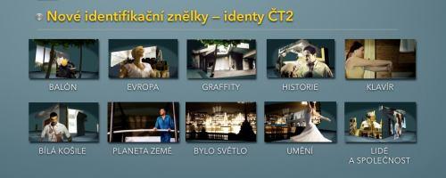 ČT 2 - nový vizuál 2011