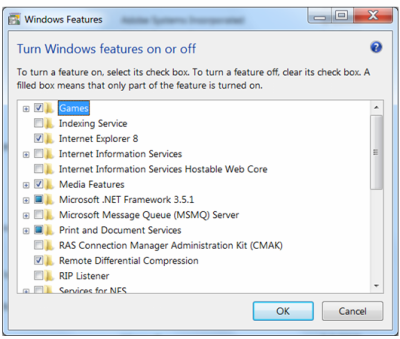 Vypnutí IE 8 ve Windows 7