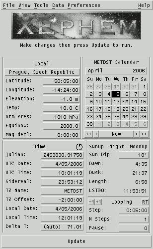 XEphem 1