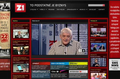 Z1 - archiv na webu